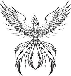 Ideas Phoenix Bird Tattoo Men Feathers For 2019 Simple Bird Tattoo, Small Bird Tattoos, Bird Tattoo Men, Bird Drawings, Tattoo Drawings, Body Art Tattoos, Pencil Drawings, Phoenix Bird Tattoos, Phoenix Tattoo Design