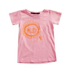 Mini and Maximus Liger Tee - Pink