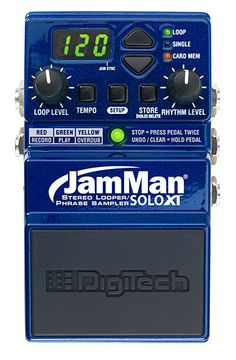 New DigiTech JamMan Solo XT advance compact looper now shipping in the UK! http://www.soundtech.co.uk/digitech/news/digitech-jamman-solo-xt-now-shipping