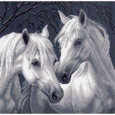 Рисунок на канве 1537 Лошади (МП) - цена, фото | Купить рисунок на канве в и | вышивка | Постила