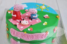 #Tartas Peppa Pig Picnic #Cumpleaños #Niños