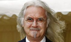 """Comedian Billy Connolly, diagnosed with early Parkinson's; """"'I think they're very closely related, deep despair and laughing,' says Billy Connolly."""