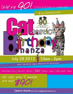 Love The Calgary Humane Society's poster! (From their FB page)