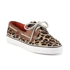 LEOPARD SPERRYS. can u not be so attractive, shoe.