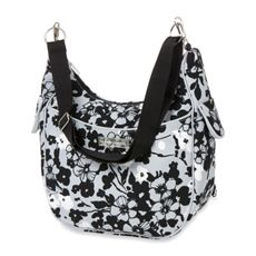 This one's cute. The Bumble Collection Chloe Hobo Convertible Diaper Bag - Evening Bloom