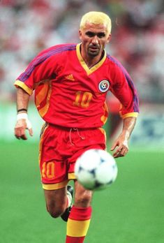 Gheorghe Hagi, Romania Get premium, high resolution news photos at Getty Images God Of Football, Legends Football, Best Football Players, Football Is Life, Rangers Fc, Just A Game, Dream Team, World Cup, Cool Photos