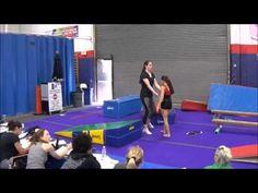 Quick Tip – Eliminating Back Walkover Fear   Swing Big! Gymnastics Blog