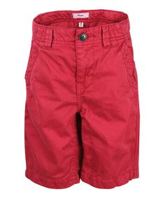 Chili Pepper Chino Shorts - Boys on zulily today!