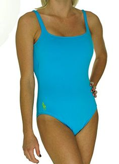 27b34c296b175 Polo Ralph Lauren One Piece Swimsuit Medium Nylon Elastane Imported Hand  Wash Cold / Line Dry / Do Not Iron Scoop Neck Solid Straps Padded cups  Scoop Back ...