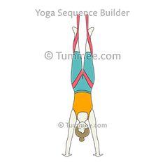 half frog pose variation aerial yoga ardha bhekasana