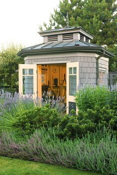 Storage Shed - love the concept
