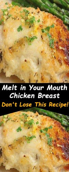 Melt in Your Mouth Chicken Breast ! – INSPIRATION Low Carb Diets, Baked Chicken Breast, Boneless Chicken Breast, Tender Chicken Breast Recipe, Fried Chicken, Easy Chicken Dinner Recipes, Easy Chicken Breast Dinner, Granny's Recipe, How To Cook Chicken
