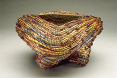 Pine Needle Baskets by Clay Burnette