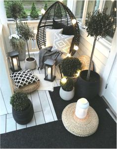 41 functional and stylish laundry room design ideas to inspire 2 « Home Design Apartment Balcony Decorating, Apartment Balconies, Cool Apartments, Rustic Apartment, Small Balcony Decor, Small Patio, Balcony Decoration, Warm Home Decor, Cheap Home Decor
