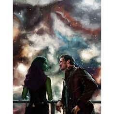 """""""Be a hero like Kevin Bacon in Footloose."""" -Guardians of the Galaxy, Gamora and """"StarLord"""" Peter Quill Peter Quill, Marvel Comics, Marvel Avengers, Gardens Of The Galaxy, Starlord And Gamora, Guardians Of Ga'hoole, Guardians Of Galaxy, Captain America, Deadpool"""