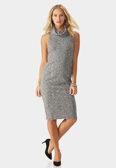 b47ad0ecfa2b Cato Fashions Cowl Neck Midi Sweater Dress-Plus #CatoFashions Cowl Neck, Plus  Size