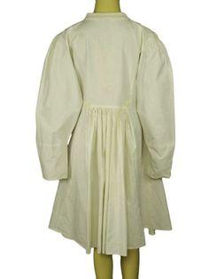 99667-Ewa-I-Walla-Peasant-Lagenlook-Vintage-Buttons-Cotton-Coat-Jacket-Dress-S