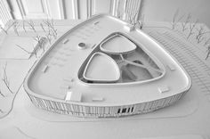 Mountford Road by Shaun Lockyer Architects, architectural model, maquette, model