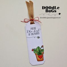 Doodlebugs: Bookmark Die from Avery Elle
