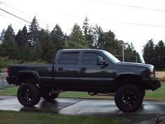 blacked out 2005 duramax - - Yahoo Image Search Results Big Chevy Trucks, Dodge Diesel Trucks, Gm Trucks, Lifted Trucks, Cool Trucks, Black Chevy Silverado, Chevy Duramax, Dodge Cummins, Silverado 2500