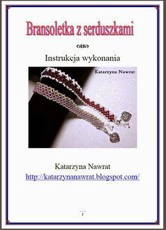 Katarzyna Nawrat : Tutorial - bransoletka z serduszkami