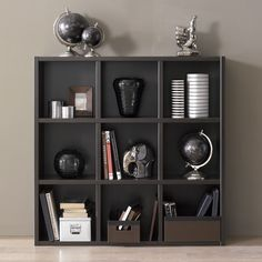 Bring a modern design sense to your home with this great cubicle book shelf. Expertly crafted and creatively articulated, you will be pleased with the brilliant look and amount of storage space from this bookcase.