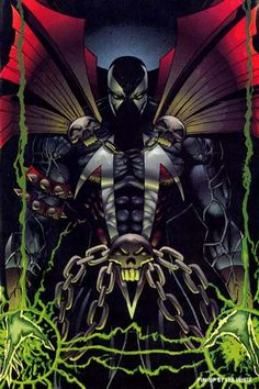 Only the coolest comic character ever! Spawn Comics, Dc Comics, Image Comics, Comic Book Characters, Comic Book Heroes, Comic Character, Comic Books, Geeks, Deadpool