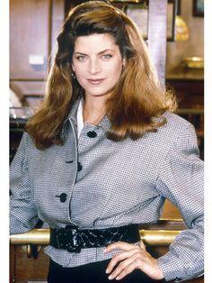 "Workwear: Kirstie Alley in ""Cheers,"" 1982"