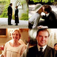Anna & John Bates- I love to think that this kind of love REALLY exists.