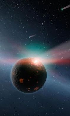 A star is hurtling towards our solar system and could knock millions of asteroids straight towards Earth Astronomy Stars, Space And Astronomy, Other Planets Like Earth, Prehistoric Timeline, Nasa, Oort Cloud, Space Images, Amazing Spaces, Our Solar System