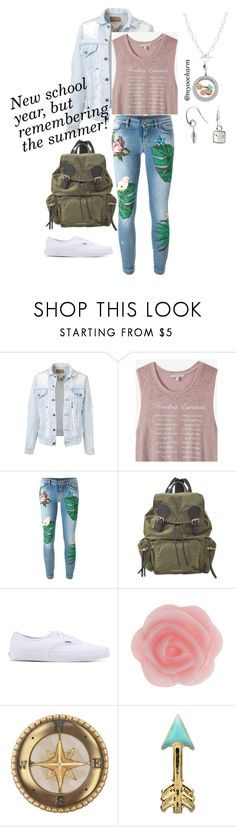 """School's Back in Session"" by myoocharm on Polyvore featuring Express, Dolce&Gabbana, Burberry and Vans"