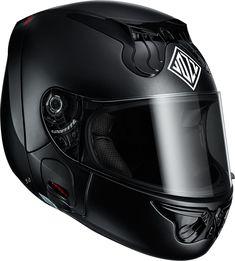 マンガの鉄仮面的な前後分割ヘルメット Vozz RS 1.0発表。あご紐不要でグローブ着用のまま着脱可能 - Engadget Japanese
