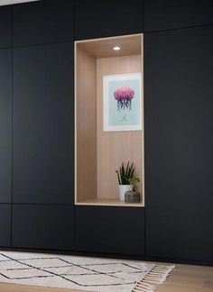 Duplex at Croix Rousse – MARION LANOE, Interior Designer and Decorator, Lyon Source by lanoemariondeco Hall Furniture, Built In Furniture, Office Interior Design, Office Interiors, Wardrobe Door Designs, Hallway Storage, Cabinet Design, Home And Living, Living Room Designs