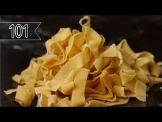 Cooking fresh homemade pasta is an art that we believe anybody can learn. Here's our guide to making restaurant-quality pasta in your own kitchen. Pastas Recipes, Cooking Recipes, Cooking 101, Pizza Recipes, Casserole Recipes, Handmade Pasta Recipe, Homemade Pasta Dough, Homemade Pasta Recipes, Egg Pasta Dough Recipe