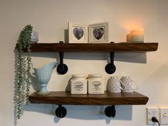 Floating Shelves, Wood Projects, Home Decor, Decoration Home, Room Decor, Wall Shelves, Wood Working, Home Interior Design, Home Decoration