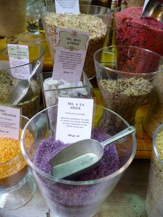 exotic salts