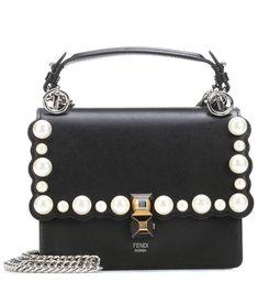 Fendi Kan I Mini leather shoulder bag Calf Leather f4da07ed415a4