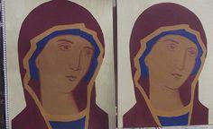Σπουδή στον κόπο των μαθητών Religious Icons, Religious Art, Face Lightening, Russian Icons, Byzantine Art, Sacred Art, Three Dimensional, Ikon, Two By Two