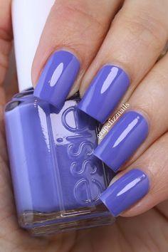 grape fizz nails: Essie Summer 2015 Collection