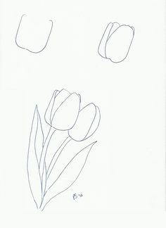More Flowers for Spring | Art class ideas