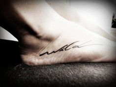 Foot | 33 Perfect Places For A Tattoo. don't really like this tatto, but i like the idea of having one on my foot