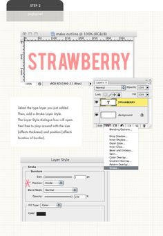 how to outline a font   Pugly Pixel