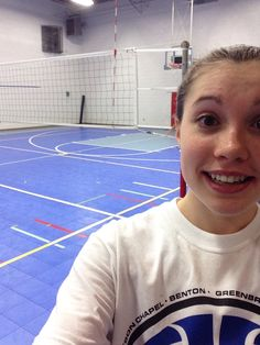 #20 Take a #selfie of you at volleyball practice. @USA Volleyball