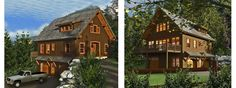 The Plymouth   Carriage House Plan   Cottage Style Home  Barn Home