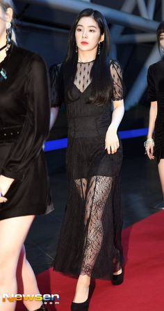Red Velvet's members have worn some sexy red carpet outfits over the years, but these 10 dresses are the hottest of the hot. Irene Red Velvet, Seulgi, The Dress, Peplum Dress, Red Velet, Velvet Fashion, Red Carpet Dresses, Asian Fashion, Kpop Girls