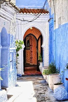 #Chefchaouen #Morocco  @SarahFlint_NYC Signature colors