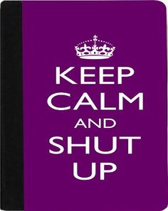 Rikki KnightTM Keep Calm and Shut Up - Purple Color Kindle® FireTM Notebook Case Black Faux Leather - Unisex (Not for Kindle Fire HD) by Rikki Knight. $48.99. The Kindle® FireTM Notebook Case made out of Black Faux Leather is the perfect accessory to protect your Kindle® FireTM in Style providing the ultimate protection your Kindle® FireTM needs The image is vibrant and professionally printed - The .gif Kindle® FireTM Case is truly the perfect gift for yourself...