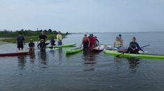 Da Crew at the Mid point of the Donny Fund Paddle Missing are the Christof family (4 more paddlers) plus a couple more late starters