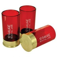 Shot gun Shot glasses..I got these. They're fun to bring out when you got friends over for drinks.