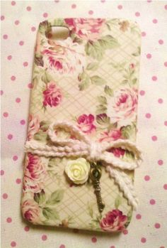 Diy Handmade Cloth Art Phone Case no.28 Vintage Rose with Key for iPhone 4 4S Galaxy S2 S3 Ace Note 2 Sony Xperia S U P Arc S  Other Phones. $19.99, via Etsy.